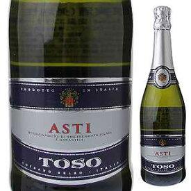 【6本〜送料無料】[11月22日(金)以降発送予定]アスティ スプマンテ NV トーソ ピエトロ 750ml [発泡白]Asti Spumante Toso Pietro