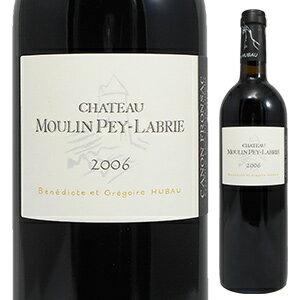 【6本〜送料無料】シャトー ムーラン ペイ ラブリー 2006 750ml [赤]Chateau Moulin Pey Labrie