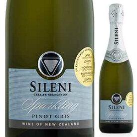 【6本〜送料無料】セラー セレクション スパークリング ピノ グリ (ゾークキャップ) NV シレーニ エステート 750ml [発泡白]Cellar Selection Sparkling Pinot Gris(Zork) Sileni Estates