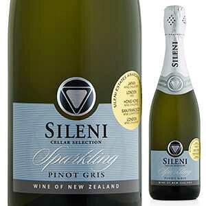 【6本〜送料無料】セラー セレクション スパークリング キュヴェ ピノ グリ (ゾークキャップ) NV シレーニ エステート 750ml [発泡白]Cellar Selection Sparkling Cuvee Pinot Gris(Zork) Sileni Estates
