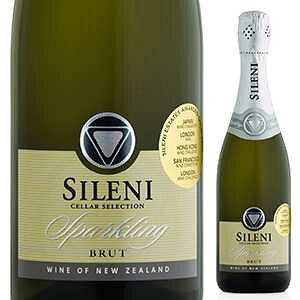 【6本〜送料無料】セラー セレクション ブリュット スパークリング シャルドネ (ゾークキャップ) NV シレーニ エステート 750ml [発泡白]Cellar Selection Brut Sparkling Chardonnay (Zork) Sileni Estates