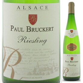 【6本〜送料無料】リースリング 2018 ポール ブルケール 750ml [白]Riesling Paul Bruckert