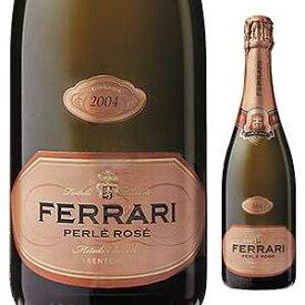 【6本〜送料無料】ペルレ ロゼ ミレジム 2004 フェッラーリ 750ml [発泡ロゼ]Perle Rose Millesime Ferrari [オールドヴィンテージ ][蔵出し]