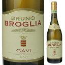 【6本〜送料無料】ブルーノ ブローリア ガヴィ デル コムーネ ディ ガヴィ 2009 750ml [白]Bruno Broglia Gavi Del Comune Di Gavi [オールドヴィンテージ ][蔵出し]