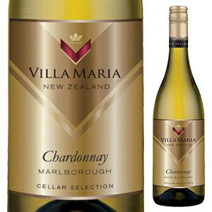 【6本〜送料無料】[4月23日(金)以降発送予定]セラー セレクション シャルドネ 2018 ヴィラ マリア 750ml [白]Cellar Selection Chardonnay Villa Maria [サクラアワード2016 ゴールド]