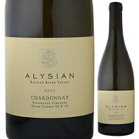 【6本〜送料無料】シャルドネ フロードゲート ヴィンヤード ディジョン クローン 95&76 2012 アリシアン ワインズ 750ml [白]Chardonnay Floodgate Vineyard Dijon Clone 95&76 Alysian Wines