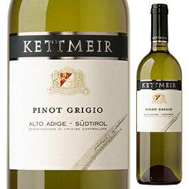【6本〜送料無料】ピノ グリージョ アルト アディジェ 2019 ケットマイヤー 750ml [白]Pinot Grigio Alto Adige Kettmeir [ケットマイアー]