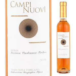 【6本〜送料無料】 [375ml]ソリエ 2007 カンピ ヌオーヴィ 375ml [甘口白] [ハーフボトル]Campi Nuovi Sorie Campi Nuovi
