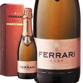 【6本〜送料無料】 [375ml][ギフトボックス入り]ロゼ NV フェッラーリ [ハーフボトル][発泡ロゼ]Rose Ferrari