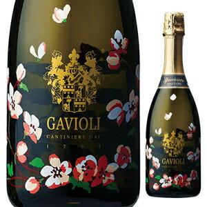 【6本〜送料無料】ガヴィオリ スプマンテ エクストラドライ フラワーボトル NV 750ml [発泡白]Gavioli Spumante Extra Dry Flower Bottle