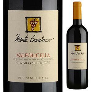 【6本〜送料無料】ヴァルポリチェッラ クラシコ 2016 モンテ サントッチョ 750ml [赤]Valpolicella Classico Monte Santoccio [クラッシコ]