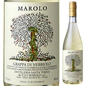 【6本〜送料無料】グラッパ ディ ネッビオーロ NV マローロ 700ml [グラッパ]Grappa Di Barbera Marolo