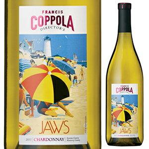 【6本〜送料無料】ディレクターズ グレート ムービーズ ジョーズ シャルドネ 2015 フランシス フォード コッポラ ワイナリー 750ml [白]Director's Great Movies Jaws Chardonnay Francis Ford Coppola Winery