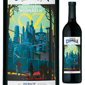 【6本〜送料無料】ディレクターズ グレート ムービーズ オズの魔法使い メルロ 2015 フランシス フォード コッポラ ワイナリー 750ml [赤]Director's Great Movies Wizard Of Oz Merlot Francis Ford Coppola Winery