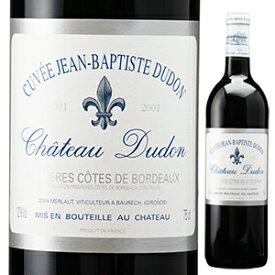 【6本〜送料無料】キュヴェ ジャン バティスト デュドン 2001 シャトー デュドン 750ml [赤]Cuvee Jean Baptiste Dudon Chateau Dudon