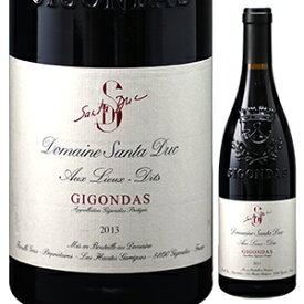 【6本〜送料無料】ジゴンダス オー リュー ディ 2013 ドメーヌ サンタ デュック 750ml [赤]Gigondas Aux Lieux Dits Domaine Santa Duc
