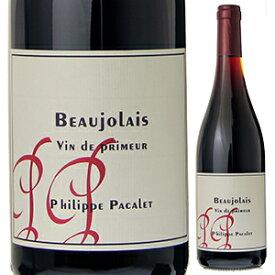 【6本〜送料無料】[B]ボージョレ ヴァン ド プリムール 2021 フィリップ パカレ 750ml [赤]Beaujolais Vin de primeur Philippe Pacalet [自然派][ボージョレヌーヴォー][11月18日解禁]