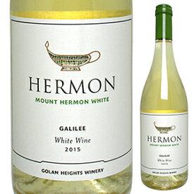 【6本〜送料無料】マウント ヘルモン ホワイト 2018 ゴラン ハイツ ワイナリー 750ml [白]Mount Hermon White Golan Heights Winery