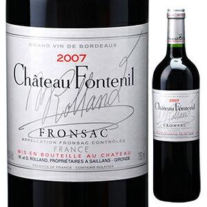 【6本〜送料無料】シャトー フォントニル 2007 750ml [赤]Chateau Fontenil