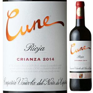 【6本〜送料無料】 [375ml]クネ リオハ クリアンサ 2014 [ハーフボトル][赤]Cune Rioja Crianza C.v.n.e.