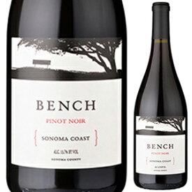 【6本〜送料無料】ソノマ コースト ピノ ノワール 2017 ベンチ 750ml [赤]Sonoma Coast Pinot Noir Bench