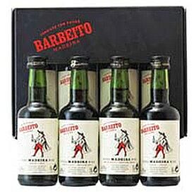 【6本〜送料無料】[3月12日(金)以降発送予定]マデイラ ティンタ ネグラ ミニボトル4種セット NV ヴィニョス バーベイト 4×50ml [マデイラ]Madeira Tinta Negra 4 Mini Bottles Vinhos Barbeito