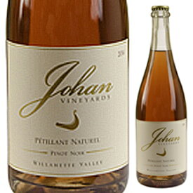 【6本〜送料無料】[8月21日(金)以降発送予定]ペティアン ナチュレル ピノ ノワール (王冠) 2018 ヨハン ヴィンヤーズ 750ml [発泡ロゼ]Petillant Naturel Pinot Noir (Crown Cap) Johan Vineyards