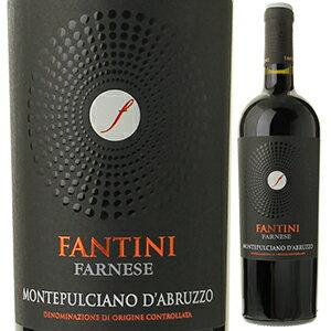 【6本〜送料無料】ファンティーニ モンテプルチアーノ ダブルッツォ 2017 ファルネーゼ 750ml [赤]Fantini Montepulciano D'abruzzo Farnese