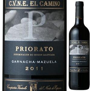 【6本〜送料無料】エル カミーノ プリオラート 2011 クネ 750ml [赤]El Camino Priorato C.v.n.e.