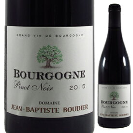【6本〜送料無料】ブルゴーニュ ルージュ 2017 ジャン バティスト ブーディエ 750ml [赤]Bourgogne Rouge Jean Baptiste Boudier