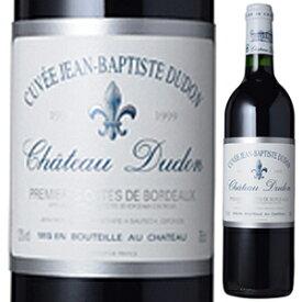 【6本〜送料無料】キュヴェ ジャン バティスト デュドン 1999 (シャトー デュドン) 750ml [赤]Cuv e Jean-Baptiste Dudon Premi res C tes De Bordeaux Rouge Chateau Dudon