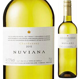 【6本〜送料無料】[10月2日(金)以降発送予定]ヌヴィアナ シャルドネ 2018 750ml [白]Nuviana Chardonnay