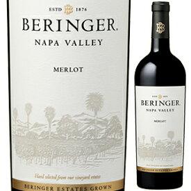 【6本〜送料無料】[3月12日(金)以降発送予定]ナパ ヴァレー メルロー 2017 ベリンジャー ヴィンヤーズ 750ml [赤]Napa Valley Merlot Beringer Vineyards
