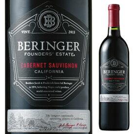 【6本〜送料無料】[2月5日(金)以降発送予定]ファウンダース エステート カベルネ ソーヴィニヨン 2018 ベリンジャー ヴィンヤーズ 750ml [赤]Founders' Estate Cabernet Sauvignon Beringer Vineyards