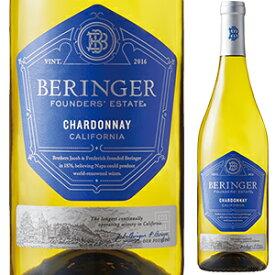 【6本〜送料無料】[2月5日(金)以降発送予定]ファウンダース エステート シャルドネ 2018 ベリンジャー ヴィンヤーズ 750ml [白]Founders' Estate Chardonnay Beringer Vineyards