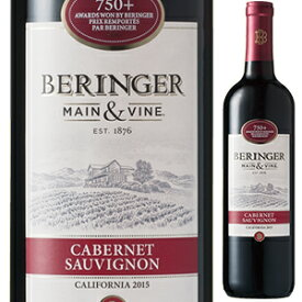 【6本〜送料無料】[5月28日(金)以降発送予定]カリフォルニア カベルネ ソーヴィニヨン 2018 ベリンジャー ヴィンヤーズ 750ml [赤]California Cabernet Sauvignon Beringer Vineyards