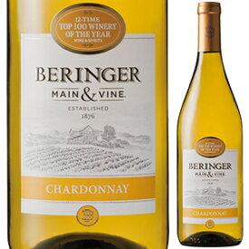 【6本〜送料無料】[6月25日(金)以降発送予定]カリフォルニア シャルドネ 2018 ベリンジャー ヴィンヤーズ 750ml [白]California Chardonnay Beringer Vineyards