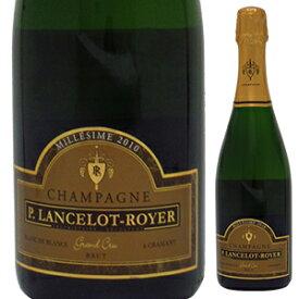 【6本〜送料無料】シャンパーニュ ブリュット ミレジメ 2011 ランスロ ロワイエ 750ml [発泡白]Champagne Brut Mill sim Lancelot Royer