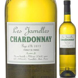 【6本〜送料無料】レ ジャメル シャルドネ 2017 バデ クレマン 750ml [白]Les Jamelles Chardonnay (Igp) Badet Cl ment