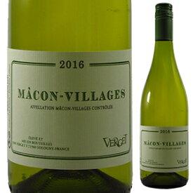 【6本〜送料無料】マコン ヴィラージュ 2018 ヴェルジェ 750ml [白]Macon Villages Verget
