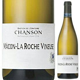 【6本〜送料無料】マコン ラ ロシュ ヴィヌーズ ブラン 2015 ドメーヌ シャンソン 750ml [白]Macon La Roche Vineuse Blanc Domaine Chanson