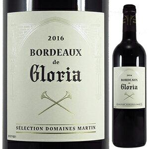 【6本〜送料無料】ボルドー ド グロリア 2016 (シャトー グロリア) 750ml [赤]Bordeaux De Gloria Chateau Gloria