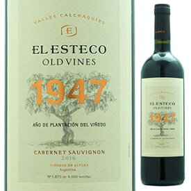 【6本〜送料無料】オールド ヴァイン 1947 カベルネ ソーヴィニヨン 2017 ボデガ エル エステコ 750ml [赤]Old Vines 1947 Cabernet Sauvignon Bodega El Esteco