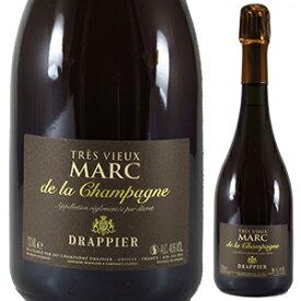 【6本〜送料無料】トレ ヴュー マール ド シャンパーニュ NV ドラピエ 700ml [マール]Tres Vieux Marc De Champagne Drappier