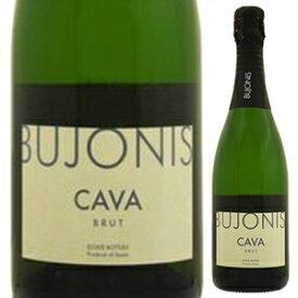 【6本〜送料無料】カヴァ ブジョニス ブリュット NV スマロッカ 750ml [発泡白]Cava Bujonis Brut Sumarroca