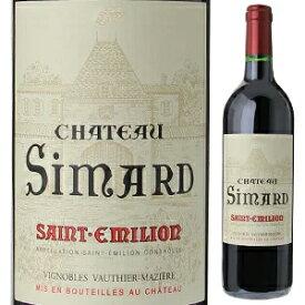 【6本〜送料無料】シャトー シマール サン テミリオン 2007 750ml [赤]Chateau Simard Saint Emilion
