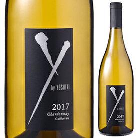 【6本〜送料無料】「Y by Yoshiki」シャルドネ アンコール カリフォルニア 2017 ワイ バイ ヨシキ 750ml [白]Chardonnay Encore California Y by Yoshiki