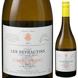 【6本〜送料無料】ペイ ドック シャルドネ 2018 レ ペイロタン 750ml [白]Pays D'oc Chardonnay Les Peyrautins