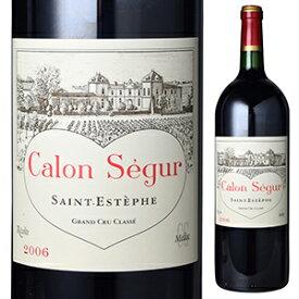 【送料無料】シャトー カロン セギュール 1996 1500ml [赤] [マグナム・大容量]Chateau Calon Segur