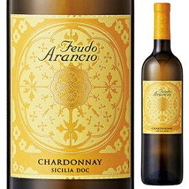 【6本〜送料無料】シャルドネ 2018 フェウド アランチョ 750ml [白]Chardonnay Feudo Arancio